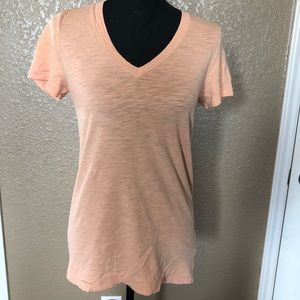 J. Crew Light Orange T, Medium